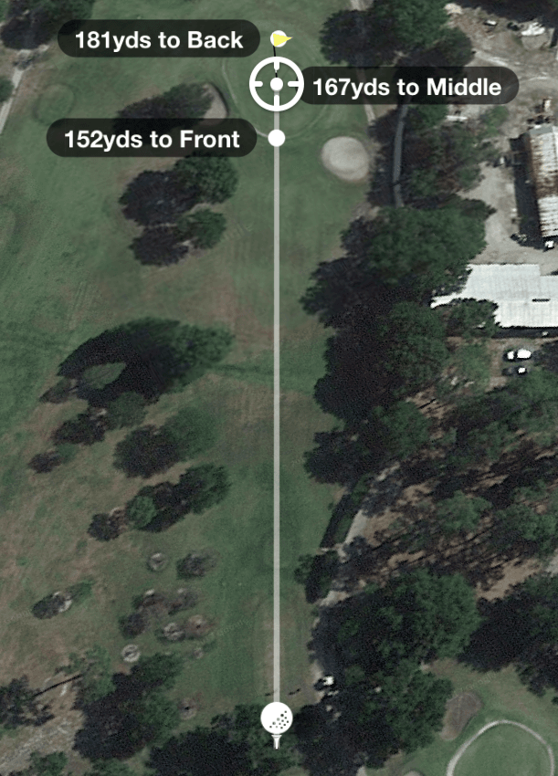 Hole 3 Par 3 158 Yards