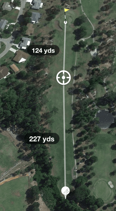 Hole 6 Par 4 354 Yards