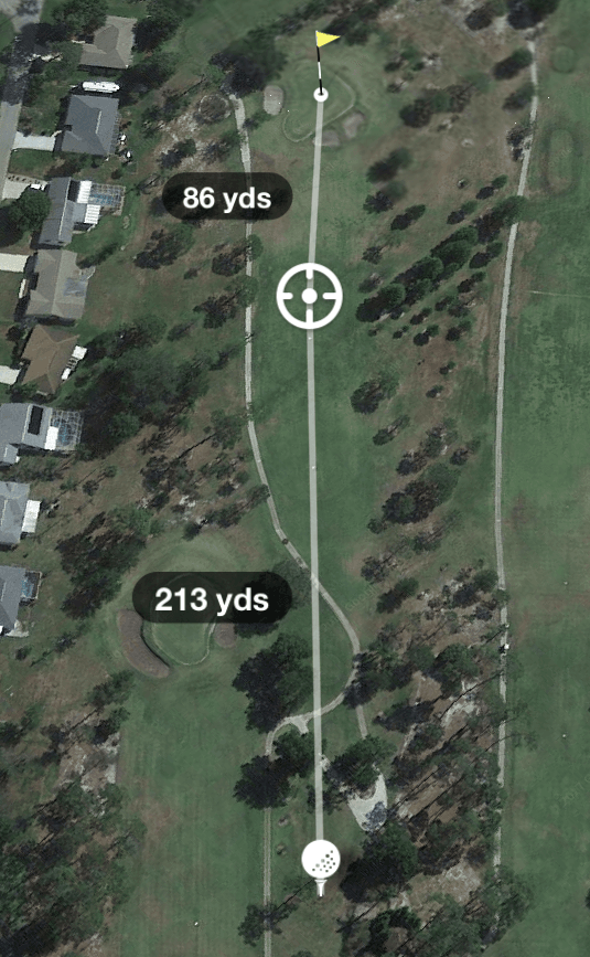 Hole 7 Par 4 299 Yards