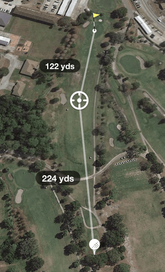 Hole 9 Par 4 347 Yards