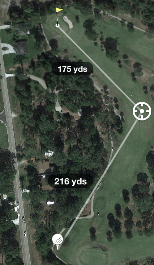Hole 13 Par 4 392 Yards