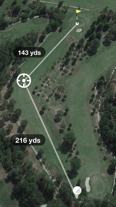 Hole 14 Par 4 357 Yards