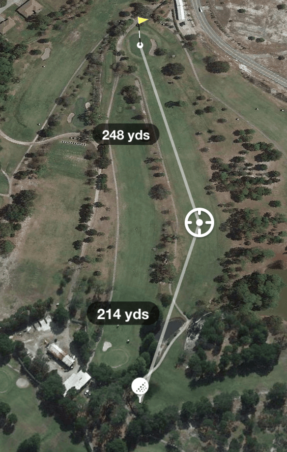 Hole 18 Par 5 474 Yards
