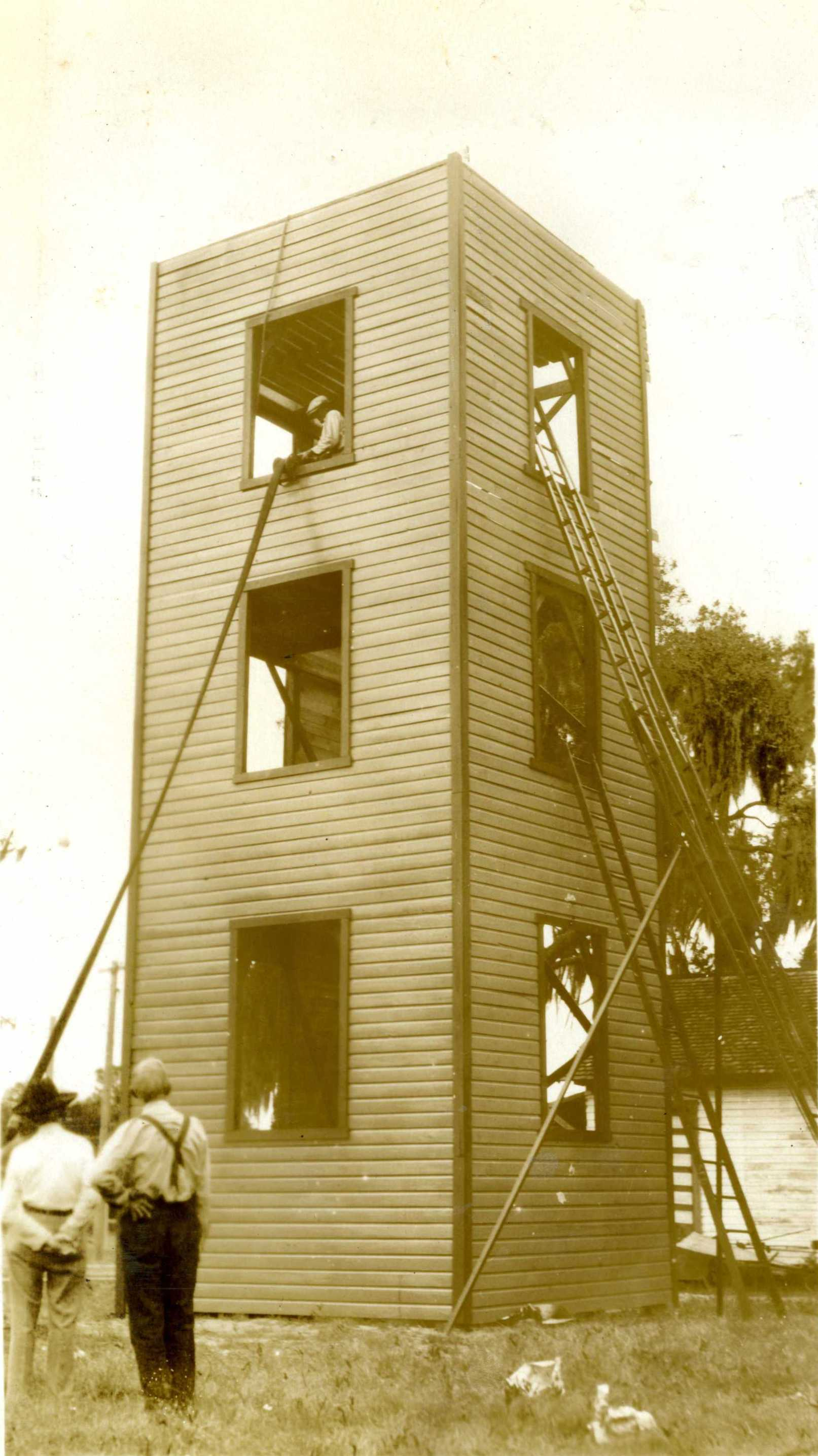 1931 fire college Tower