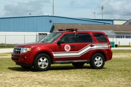 2010 Ford Escape, Fire inspector vehicle