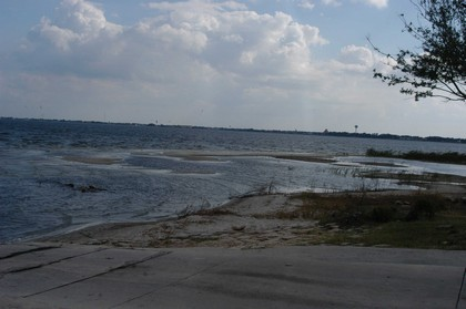 Beach Area South of Boat Ramp